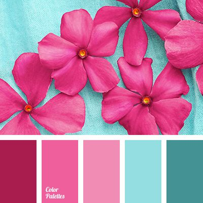 Pretty color palette for summer.